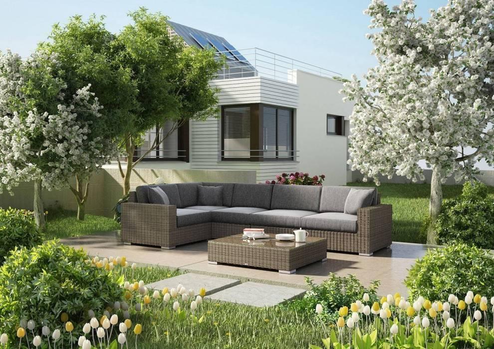Záhradné rohové pohovky - zistite viac o nábytku, ktorý obohatí vašu záhradu
