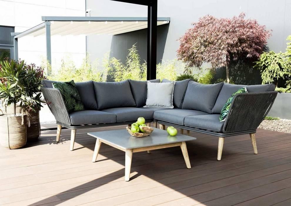 Prekrytá terasa so sedačkou CORFU I