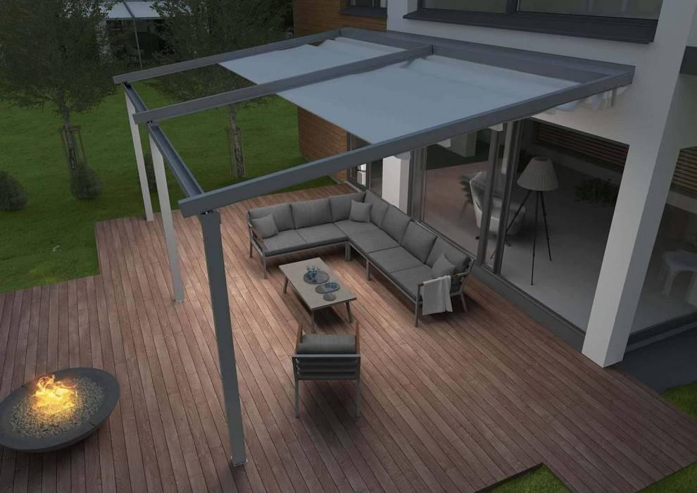 Prekrytá terasa - sedenie LUGO STONE and WOOD