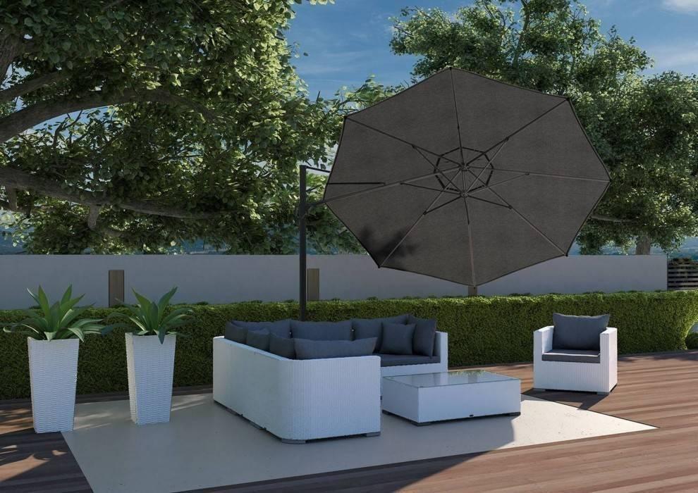 Biely záhradný nábytok na terasu - hit prichádzajúcej sezóny
