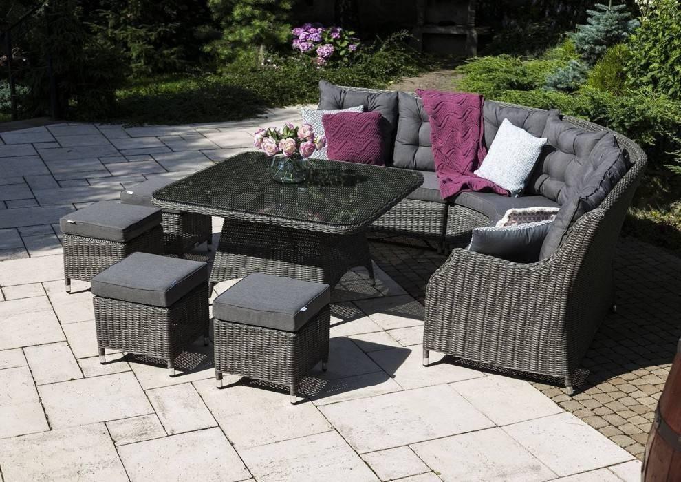 Rohový nábytok na terasu – návrhy pre modernú záhardu