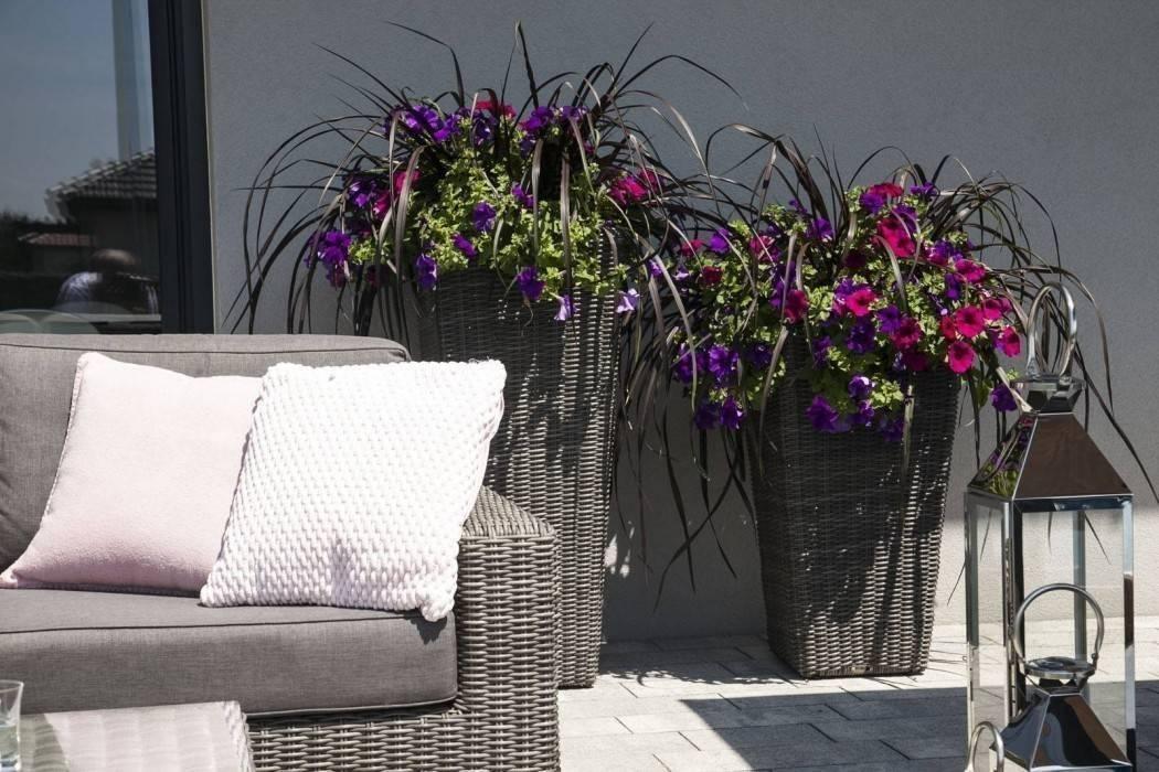 Terasový kvetináč - vkusný detail do vašej záhrady