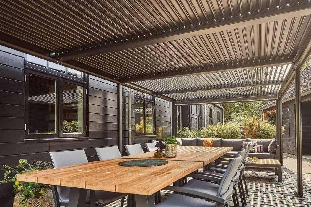 Veľká záhradná pergola - užívajte si leto v každom počasí
