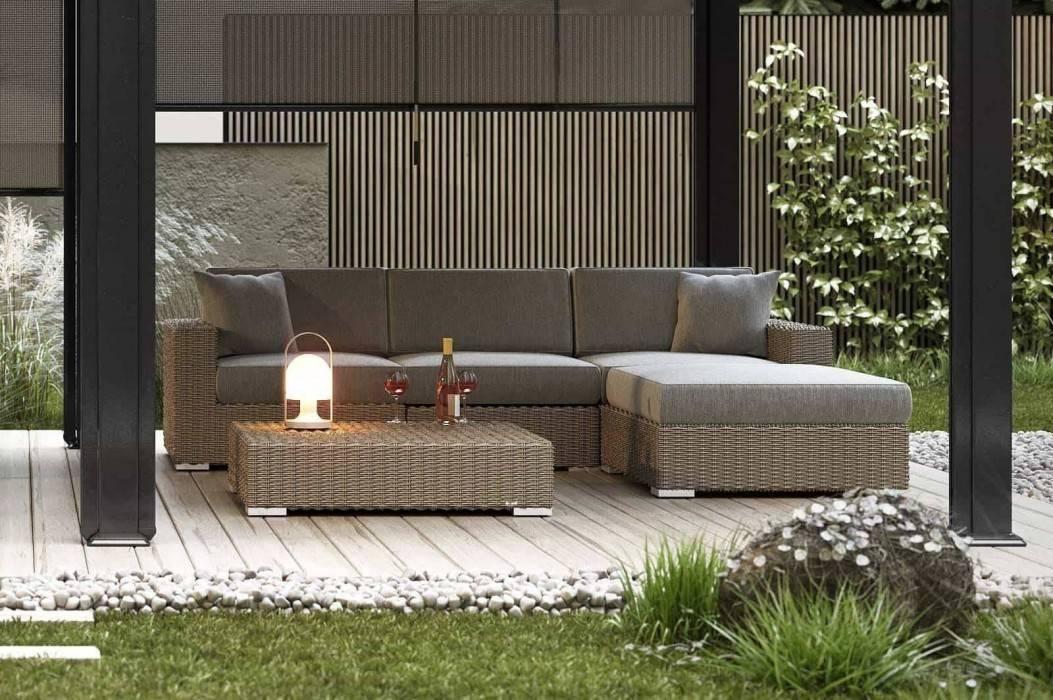 Záhradný nábytok súprava - Milano royal piesok