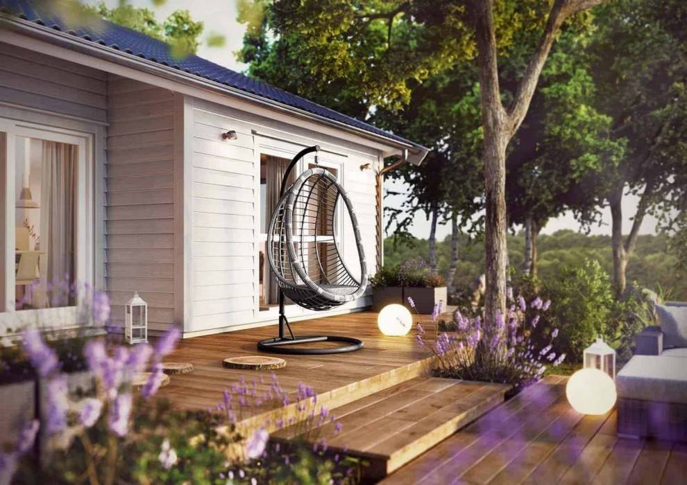 zavesne kreslo moderne vybavenie zahrady BELLA