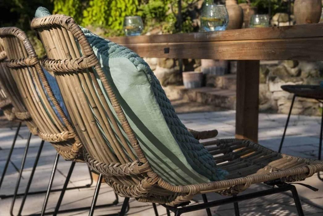 Ratanový záhradný nábytok - priblížte sa k prírode