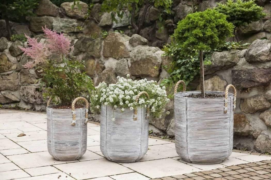 vysoké kvetináče do vašej záhrady  AMIENS