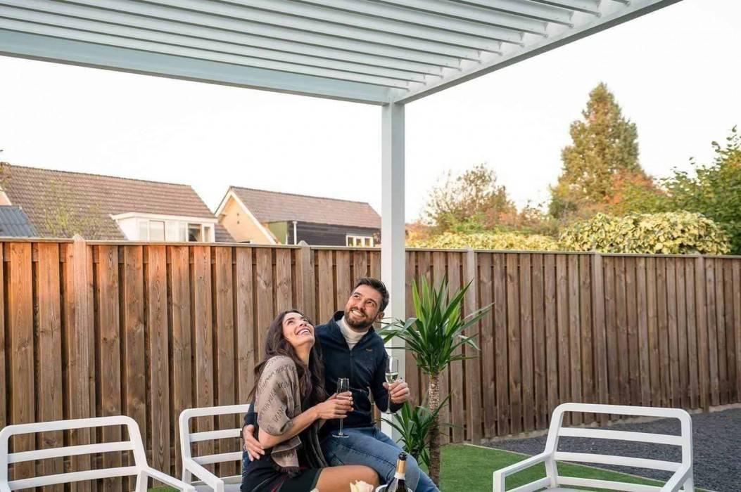 Celoročný prístrešok na terasu pre väčšie pohodlie