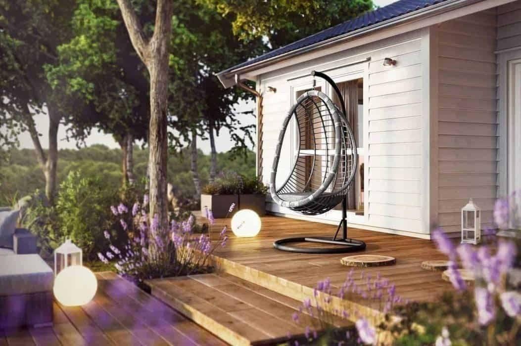 Závesné kreslo na terasu, či balkón - doprajte si komfort!