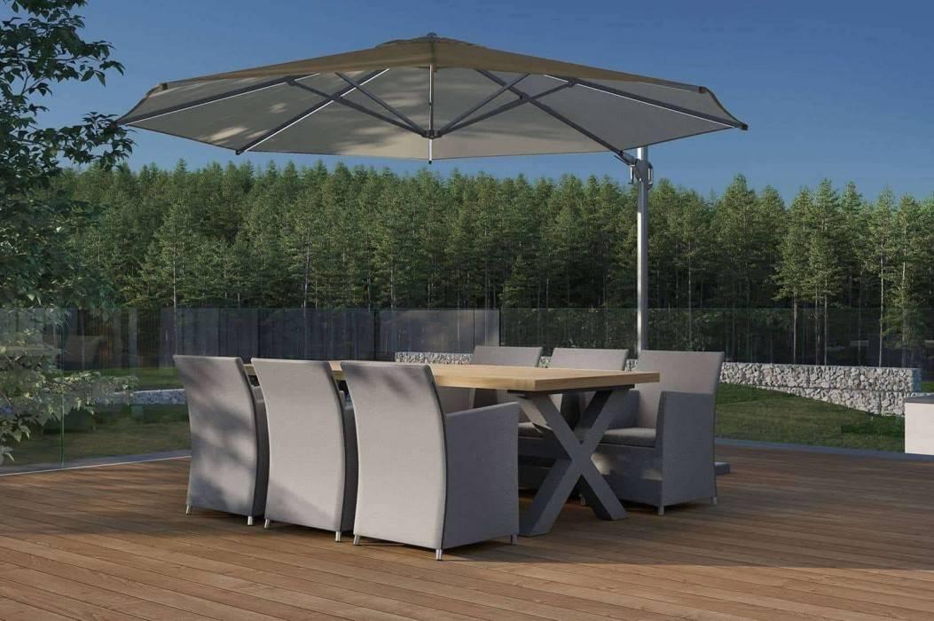 Veľký záhradný stôl - funkčné riešenie pre vaše pohodlie
