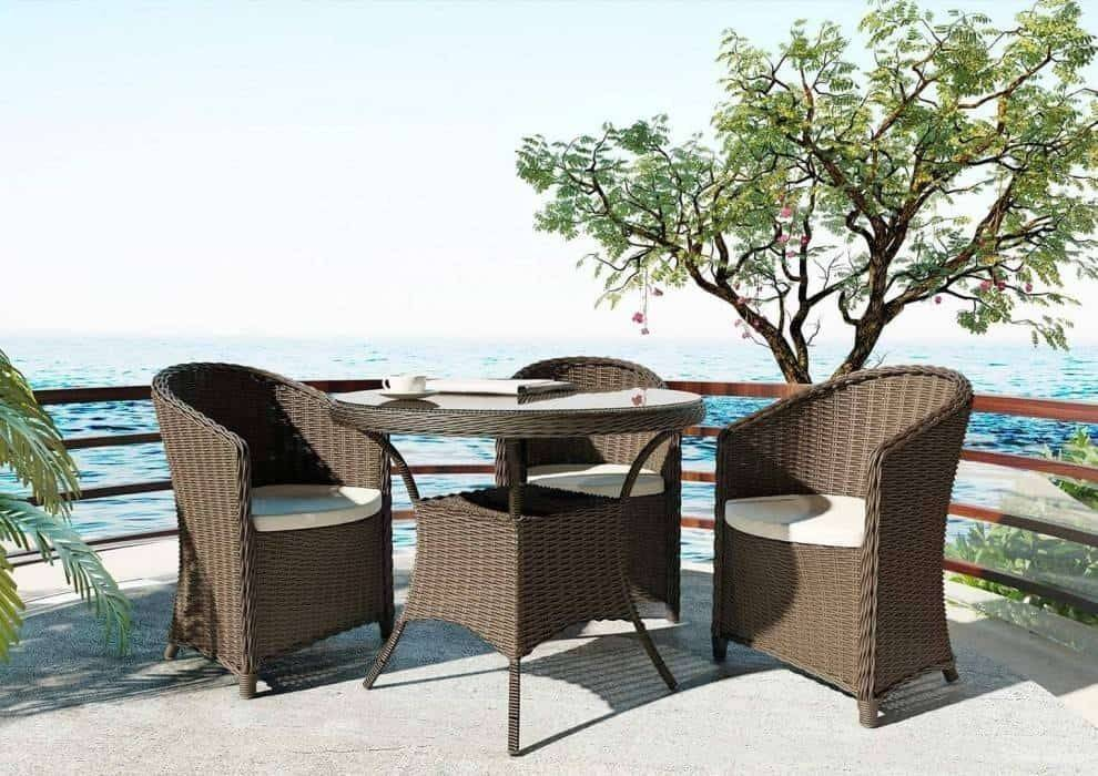 Balkonový stolík - vytvorte si vlastný kúsok raja