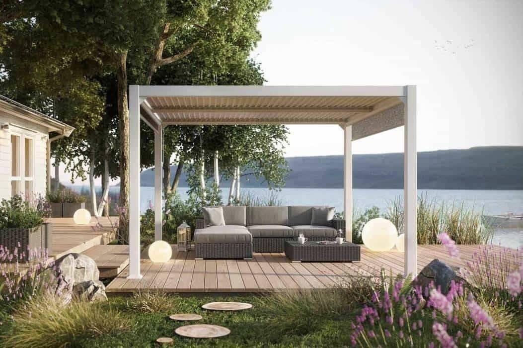 Prístrešok na terasu, ktorý si postavíte sami - krásna a funkčná záhrada