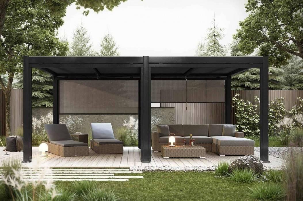 Prístrešky na terasy - ako vyhrať nekonečný boj s počasím