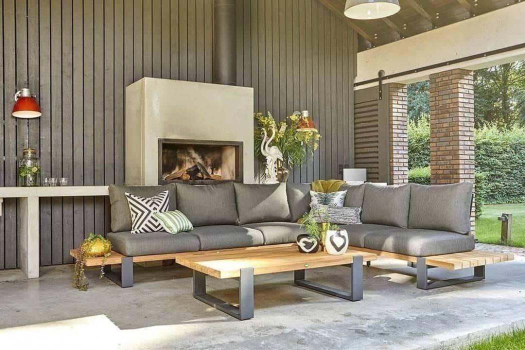 Pohodlný záhradný nábytok - oddychová zóna u vás doma