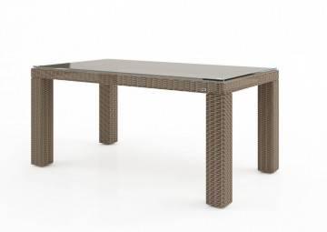 Záhradný ratanový stôl RAPALLO 160 Royal piesok