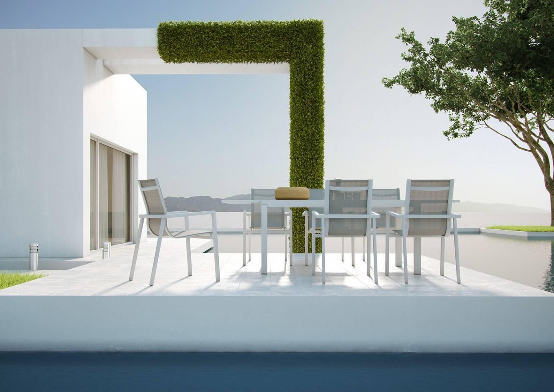 Záhradný hliníkový stôl TOLEDO