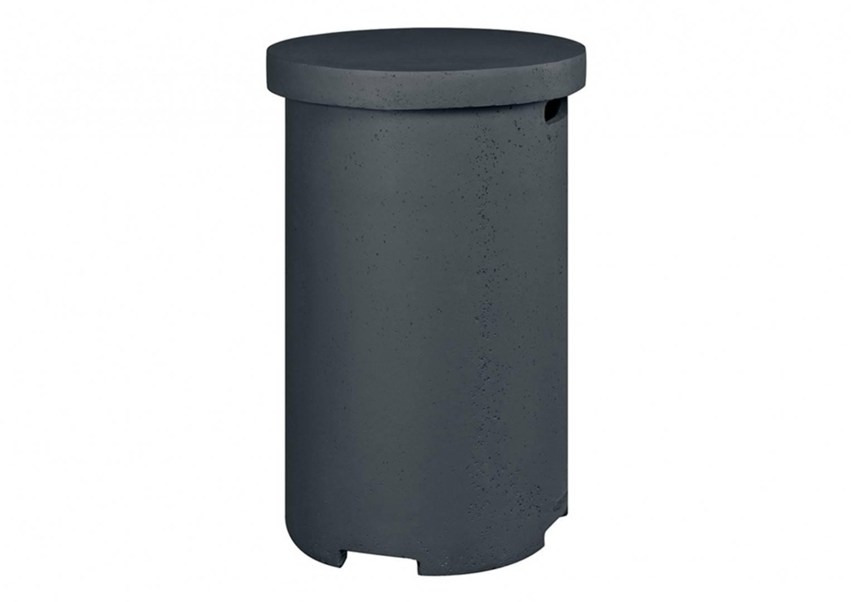 Plynové ohnisko okrúhle čierna