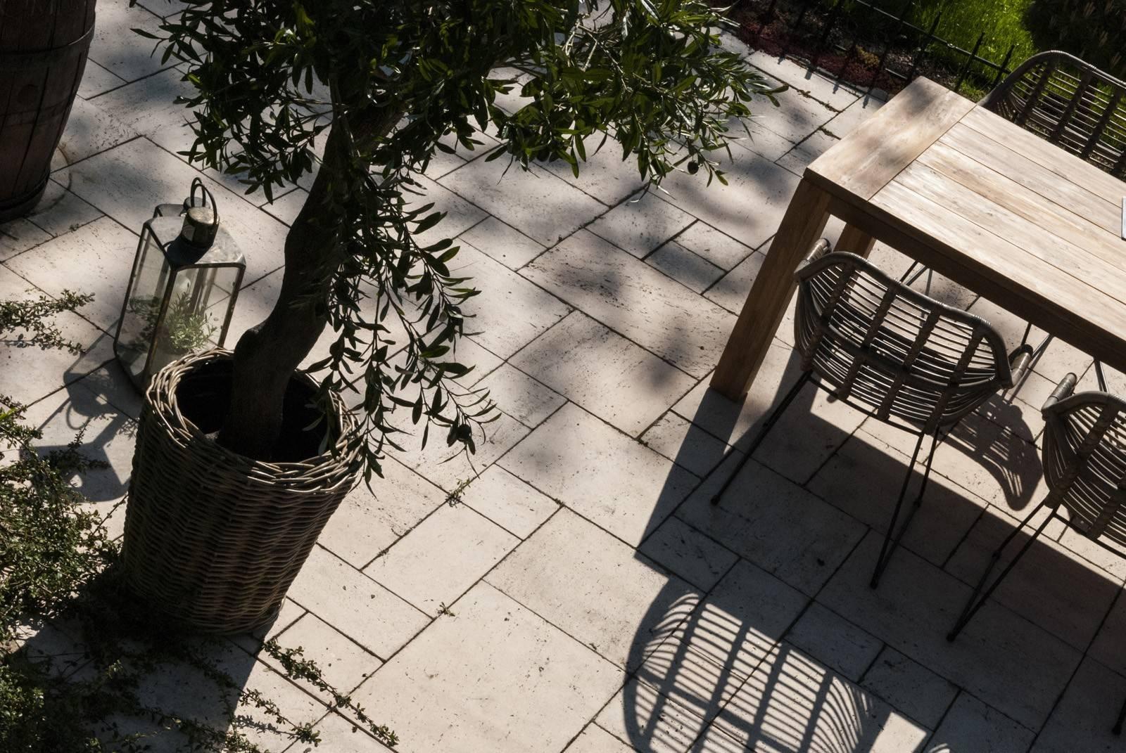 Záhradný ratanový kvetináč GRASSE Ø 43 cm x výška 33 cm