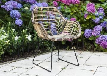 Záhradné ratanové kreslo LAVAL natural