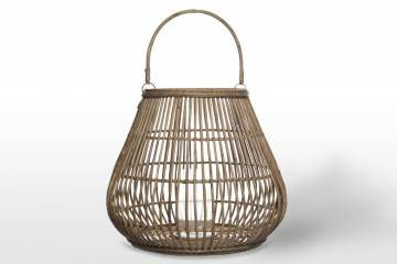 Záhradný okrúhly lampáš CAEN