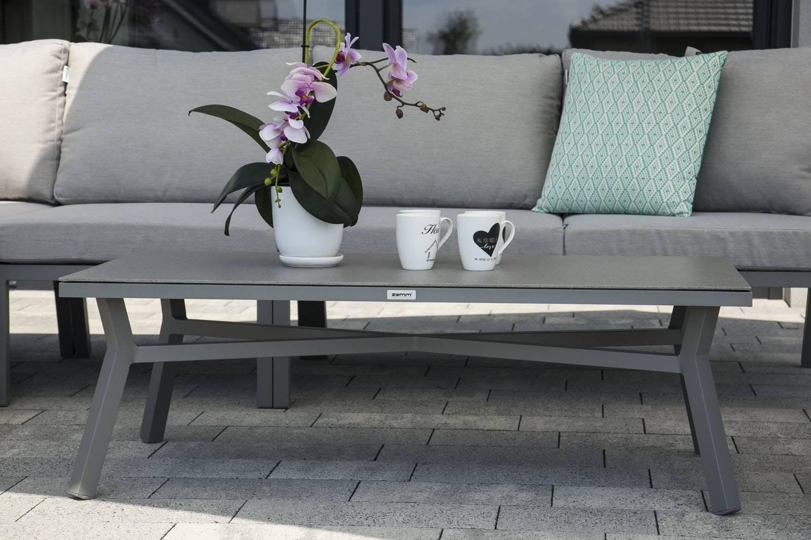 Záhradná hliníková súprava LUGO - STONE&WOOD