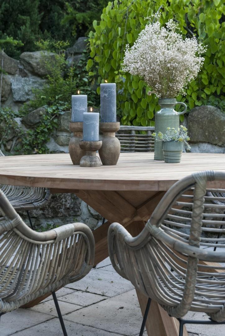 Záhradný teakový stôl BORDEAUX