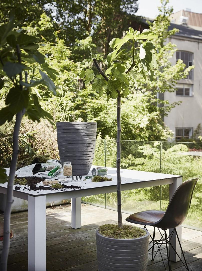Záhradný kvetináč OFI903 41cm