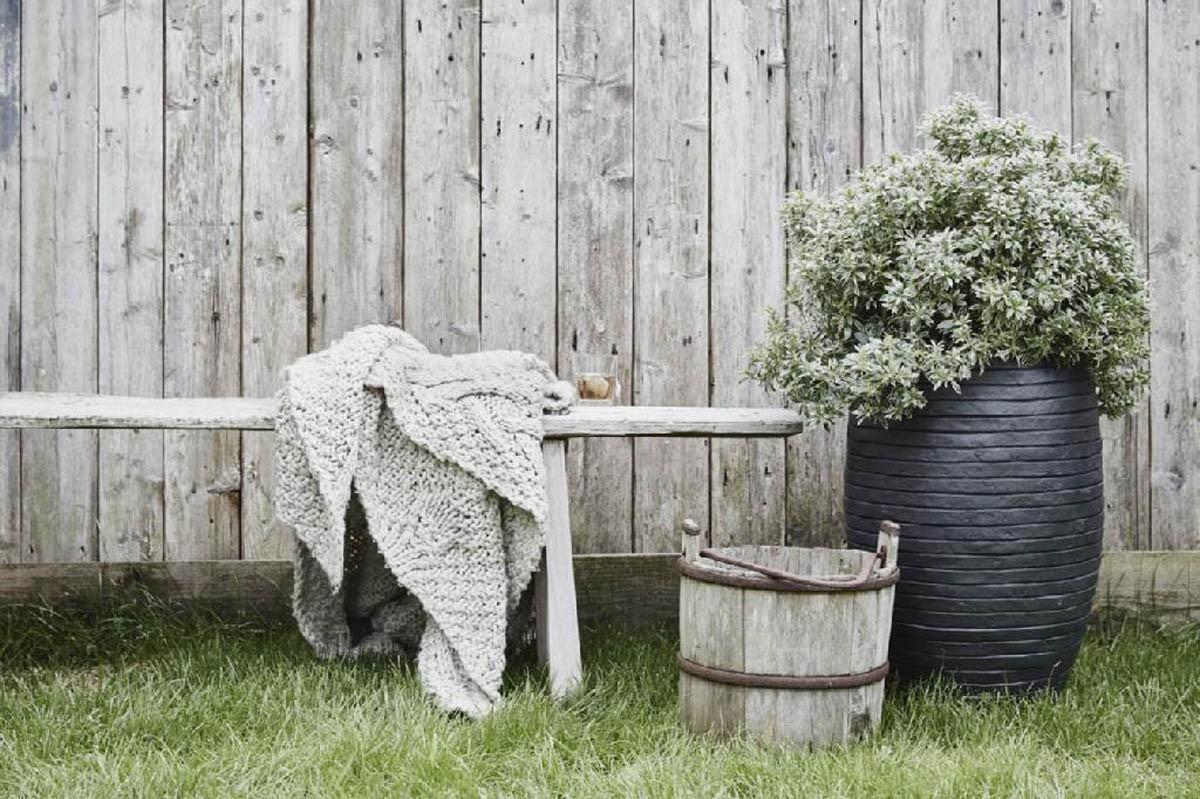 Záhradný kvetináč RWG782 47cm