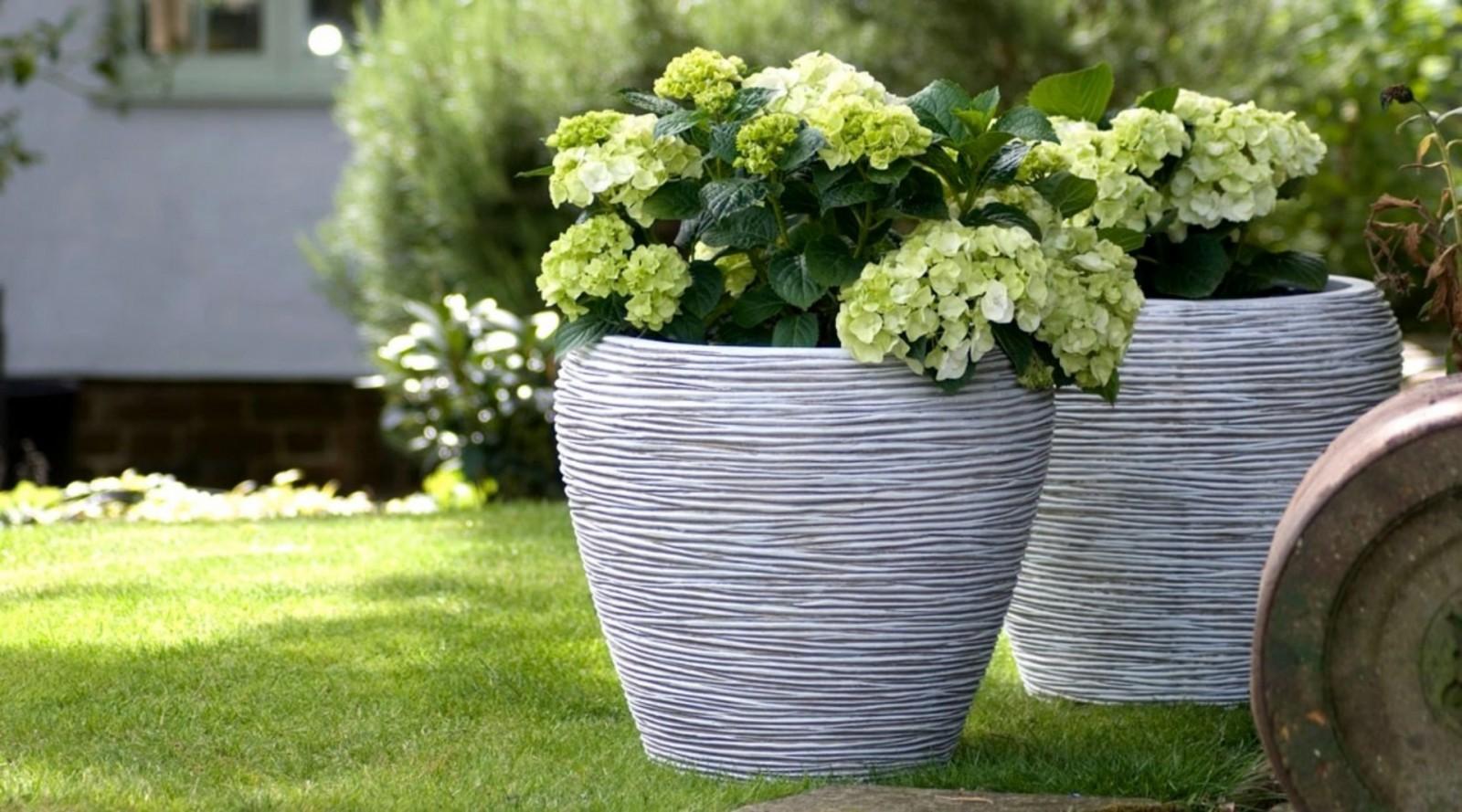 Záhradný kvetináč RWG931 27cm