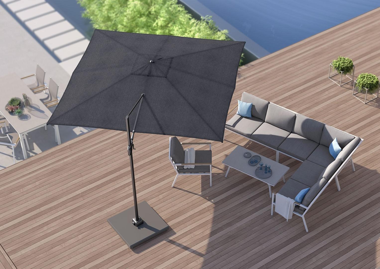 Záhradný slnečník Challenger T² 3m x 3m
