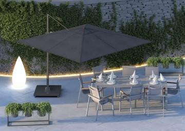 Záhradný slnečník Challenger T² Premium 3m x 3m