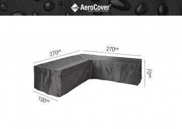 """7942 Ochranný kryt na záhradný nábytok v tvare """"L"""" 270x270x1..."""