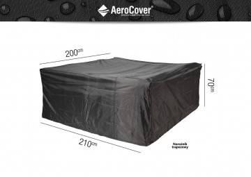 7932 Ochranný kryt  na záhradný nábytok štvorcový 210x200x70cm