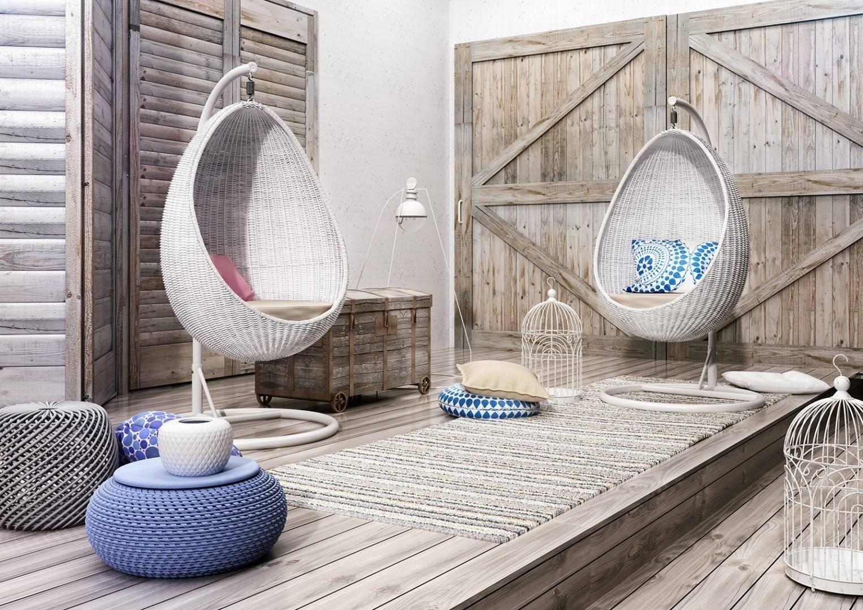 Záhradný nábytok v škandinávskom štýle UOVO Royal white