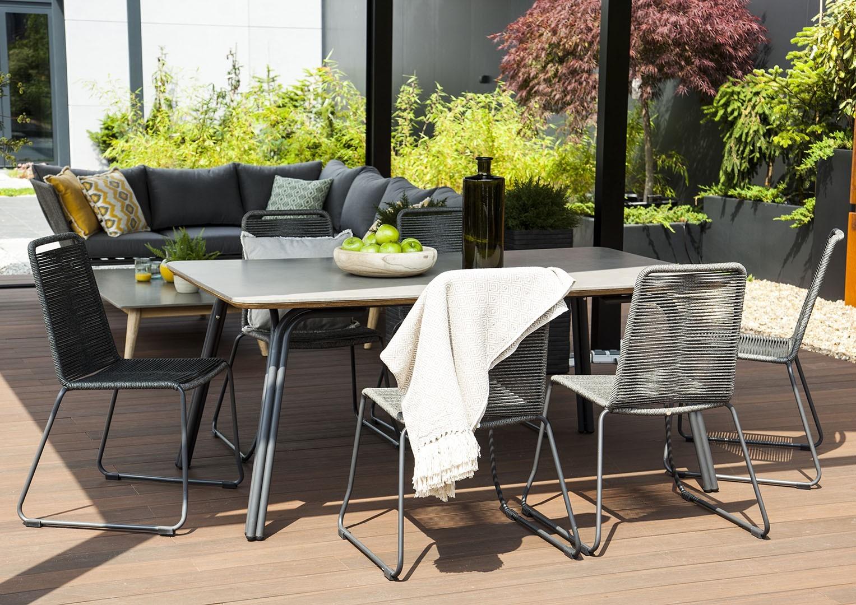 Záhradná jedálenská súprava SIMI 180 cm