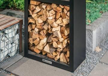 Drevený zásobník na drevo Basic Wood Storage