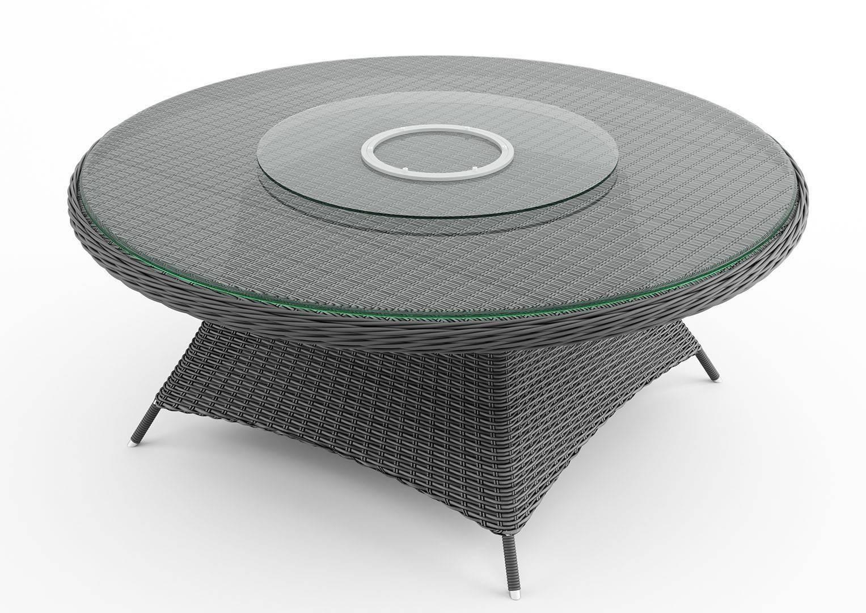 Sklenená doska na stôl  RONDO ø180 cm