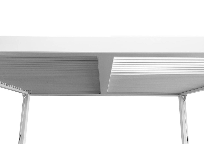 Hliniková pergola MARANZA 720cm matná biela