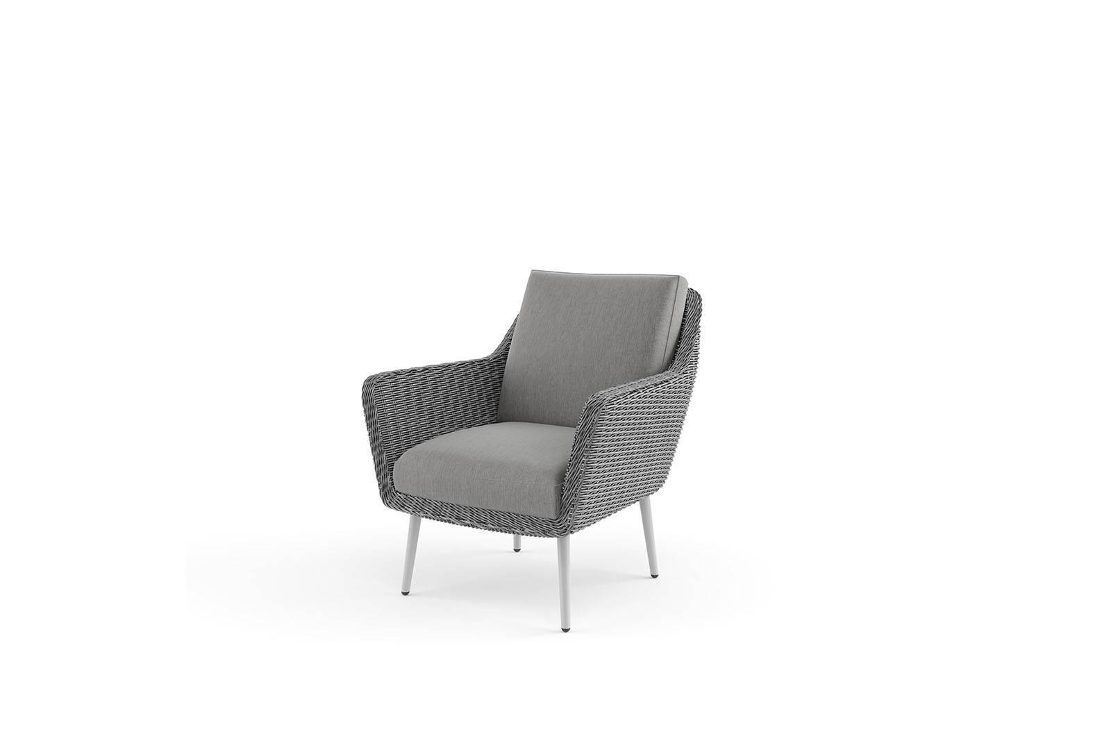 Záhradná ratanová sedacia súprava MONZA royal sivá