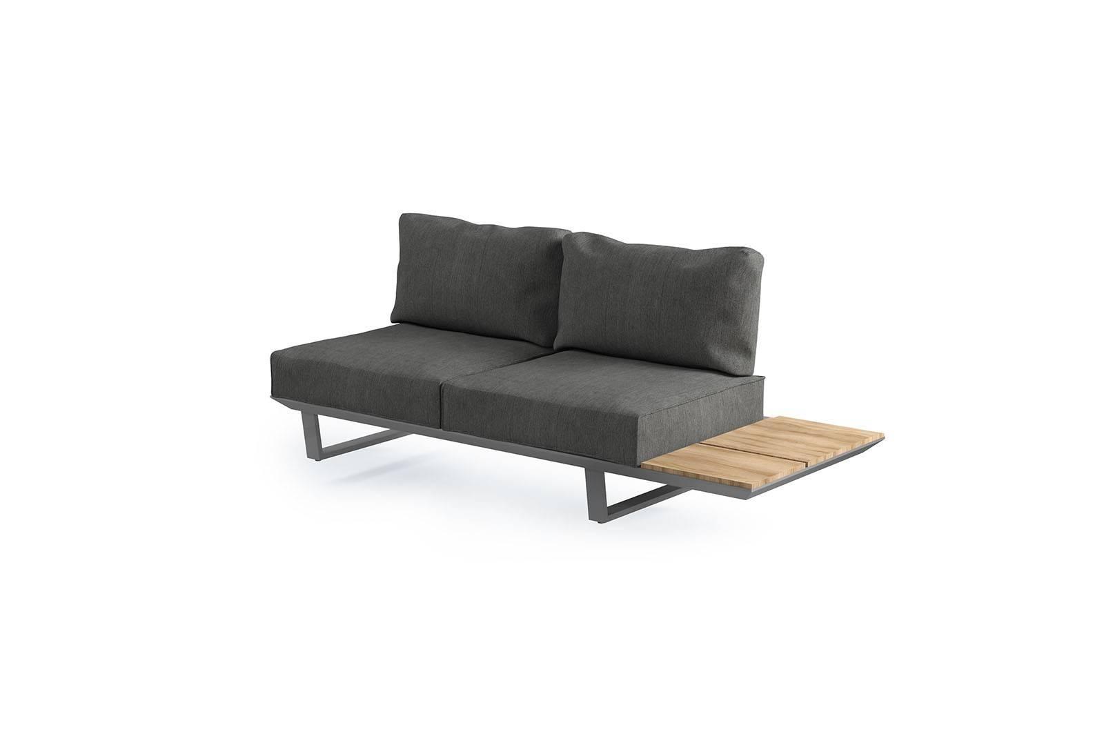 Záhradná hliníková sedacia súprava CORIA I grey