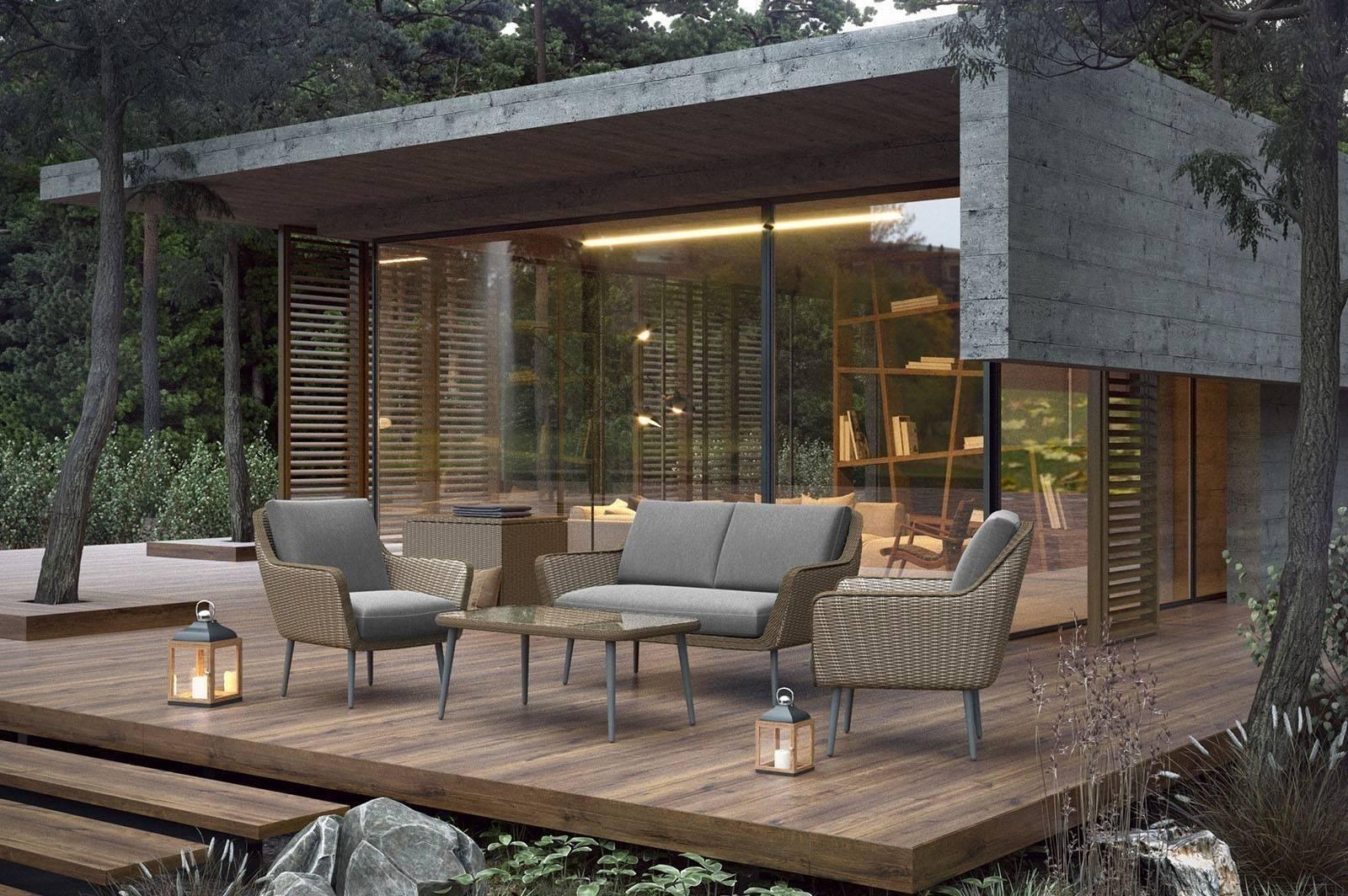 Luxusný nábytok na terasu MONZA