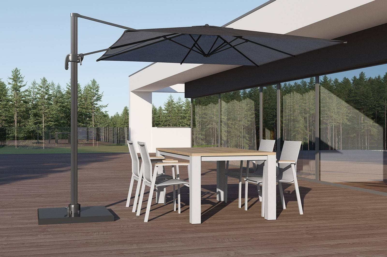 Záhradná hliníková súprava MADRIT - LEON light grey