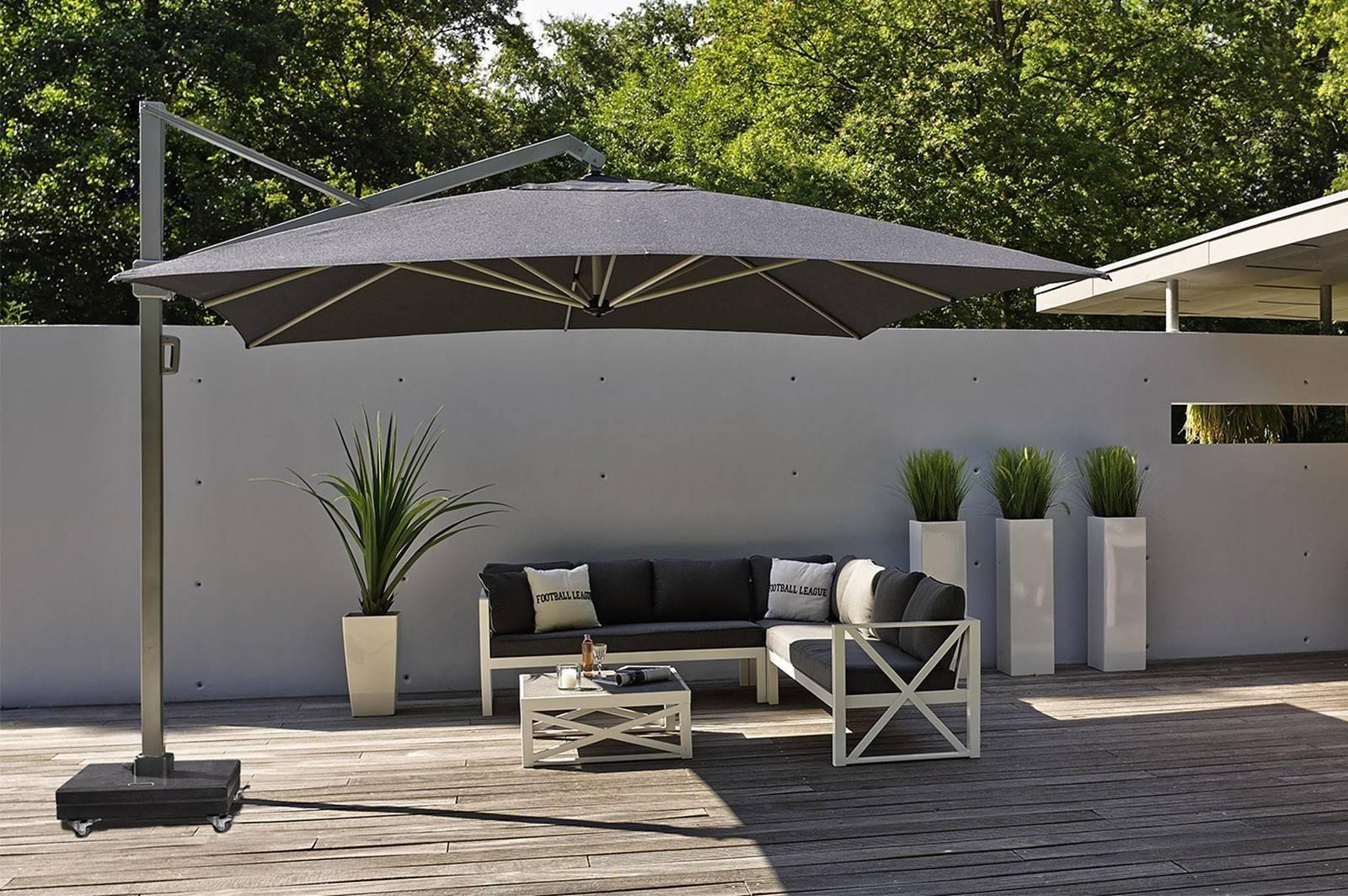 Záhradný slnečník ICON k bazénovému nábytku