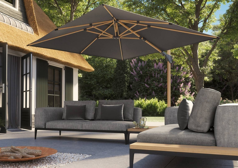 Luxusný nábytok na terasu a záhradný slnečník