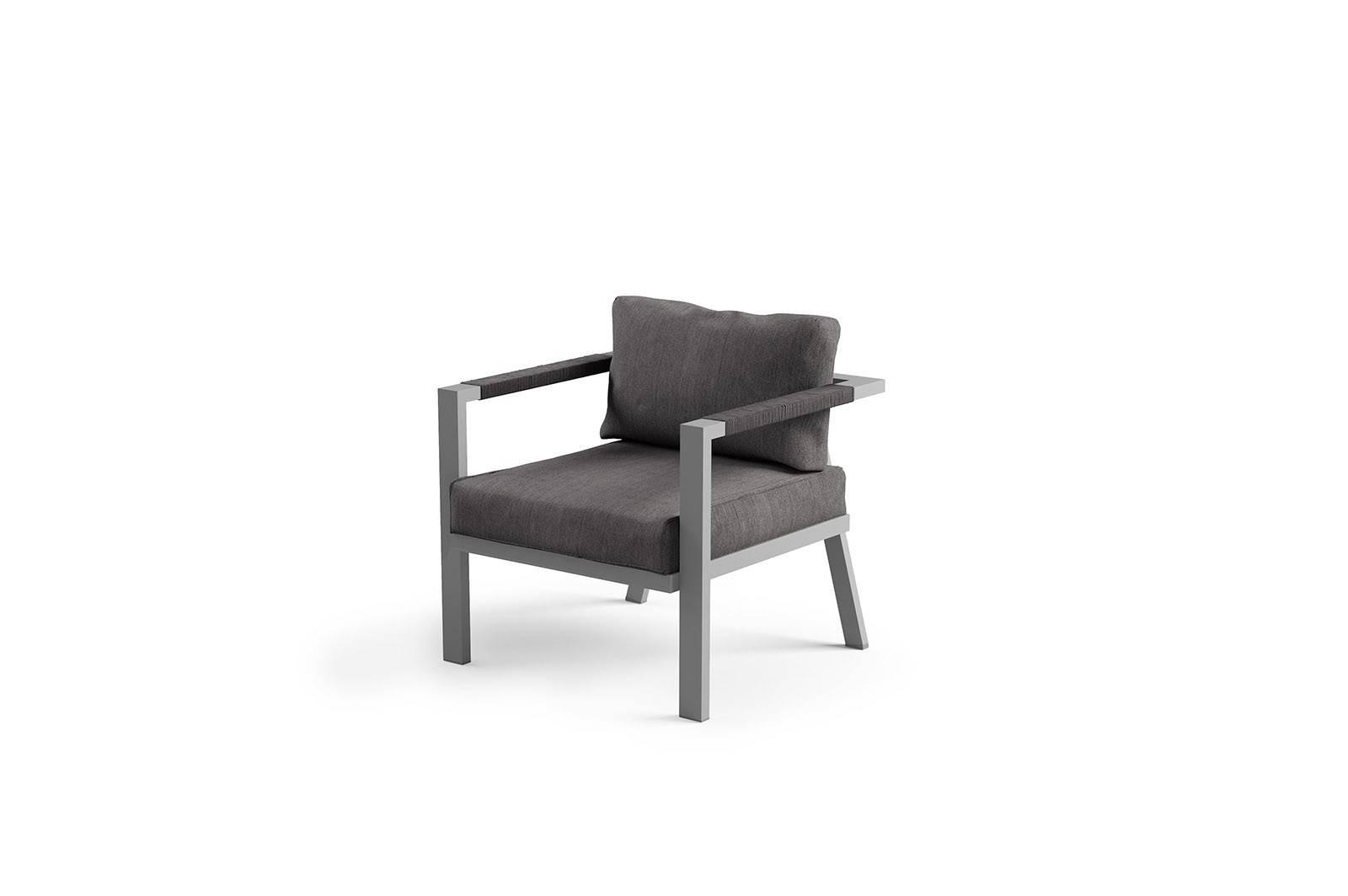 Záhradná hliníková súprava GRADO grey