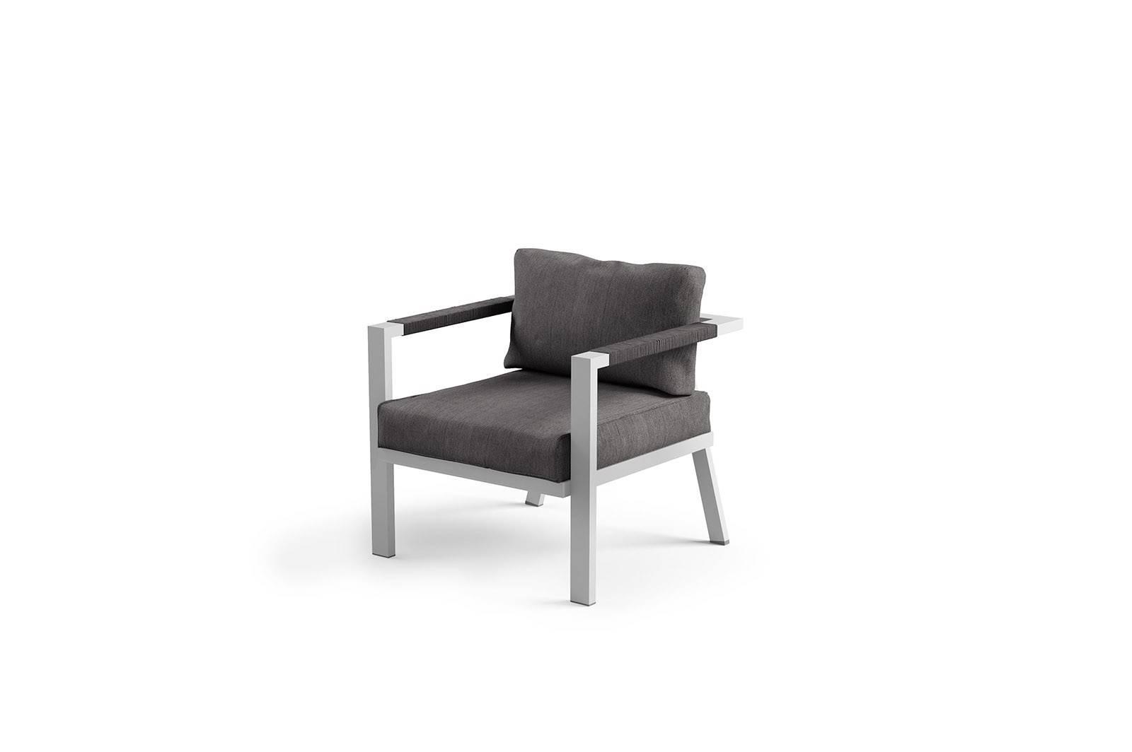 Záhradná hliníková sedacia súprava GRADO light grey