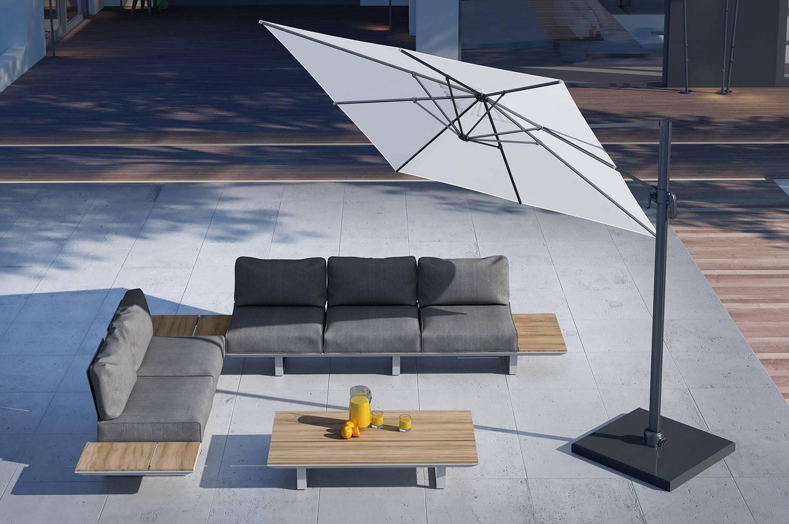 Luxusný nábytok na terasu CORIA grey