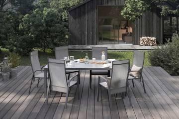 Záhradný nábytok OVIEDO antracit