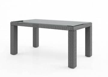 Záhradný ratanový stôl RAPALLO 160 Royal sivá