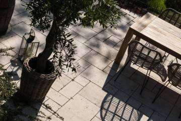 Záhradný ratanový kvetináč GRASSE ⌀71cm x výška 49cm